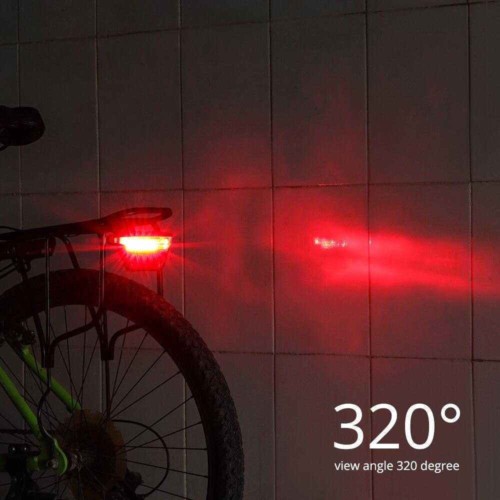 ebike lanterna traseira dc 6 v 12