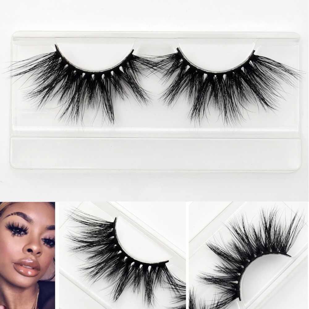 11113710d74 Visofree 25mm lashes 3d mink lashes handmade full strip lashes crisscross  dramatic mink eyelashes full volume