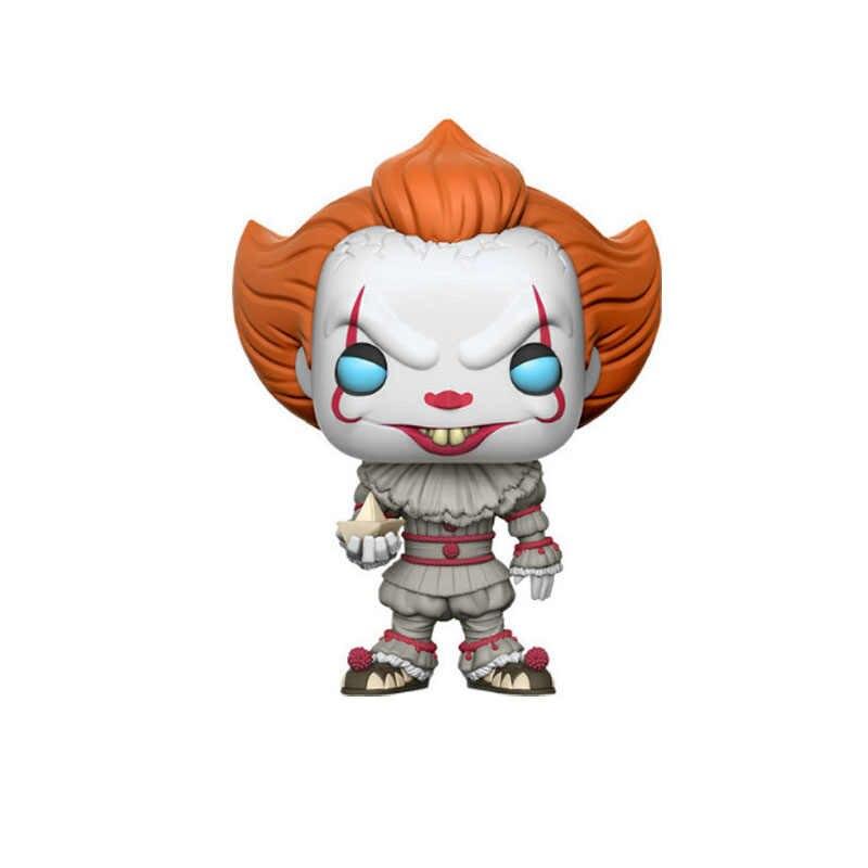 Funko POP film Stephen King's It Joker Clown personnage PENNYWISE vinyle poupées Figure jouets modèle pour enfants cadeau