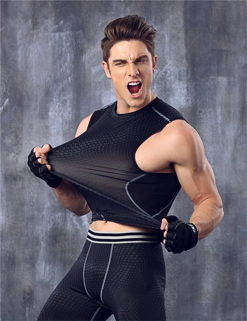 ÚJ GymFit Tank Top férfi testépítő mellények Méretezés Stringer Singlet Fitness ujjatlan ing Izom mellény edzés gyakorlat