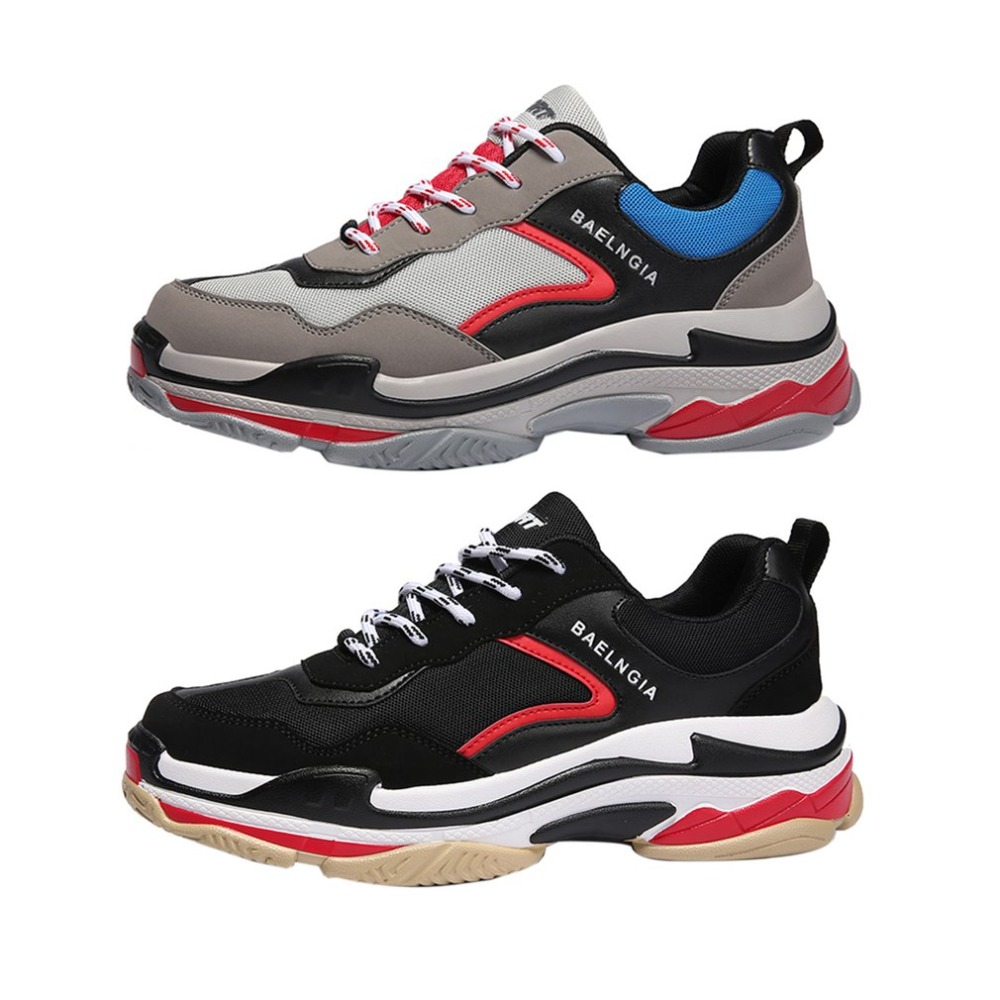 Sneakers Escalade Hommes Mesh Chaussures D'été Flyknitting Red X De Mode Black Red Respirant Voyager Plein Air En Jogging gray Oxzf7wq5