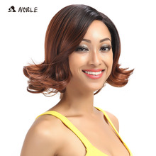 Noble I Part Lace Front Wigs For Black Women 12 Inch Wavy Ha