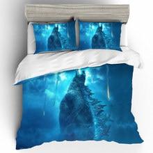 Prajna Godzilla 3D Bedding Sets Home Textile Single Queen King Size Set Duvet Cover Bed Sheets Pillowcases Linen