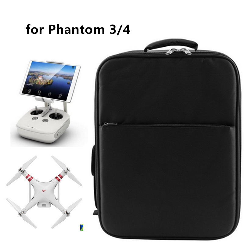 DJI Phantom 3 /4 accessories Backpack Bag Shoulder Carrying Case for DJI Phantom 3 /4  Hot high quality защита пропеллеров dji для phantom 3  part2