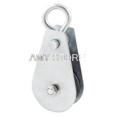 Metallic Lifting Tackle 200Kg 0.2T Swivel Hook Single Groove Pulley