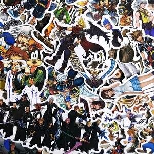 Image 2 - Flyingbee 50 قطعة ملصقات مقاومة للماء الاطفال لعبة ملصق DIY بها بنفسك الأمتعة المحمول جدار سيارة حلية للهاتف X0038