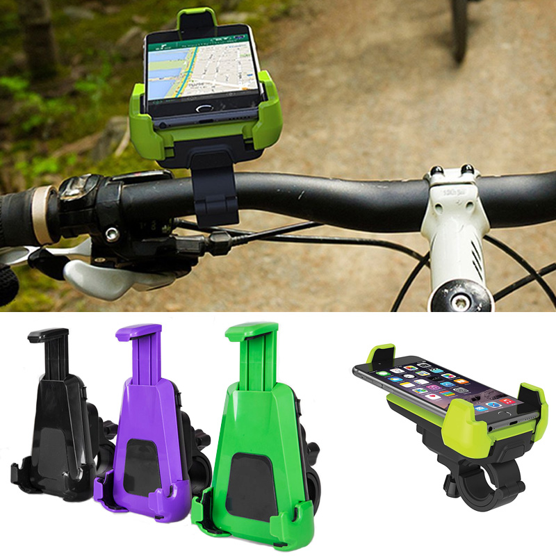 Motorcycl Bicycle Bike Mobile Phone GPS Handlebar Stand Holder Mount for iPhone 7 5S 6 Plus for Samsung Galaxy S8 S7 S6 Edge J7
