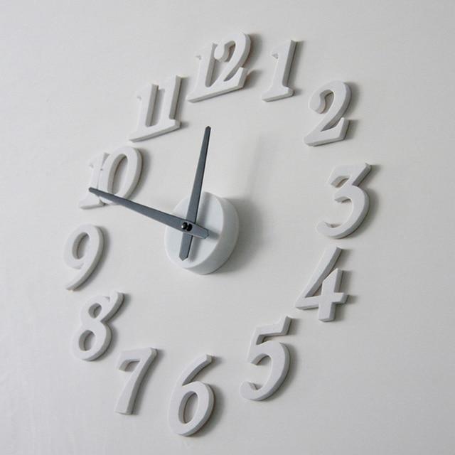 3D FAI DA TE Orologio Da Parete Art Design Moderno per Soggiorno ...