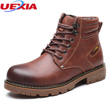 Men Boots Top Quality Comfortable Casual Shoes Leather Fashion Popular Luxury Motorcycle Men Shoes High Quality Lace-Up Oxfords