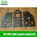 SWMAKER OX CNC Комплект козловой плиты Y козловой 10 мм толщина 29 см Высота выше Y портальные пластины для OX CNC