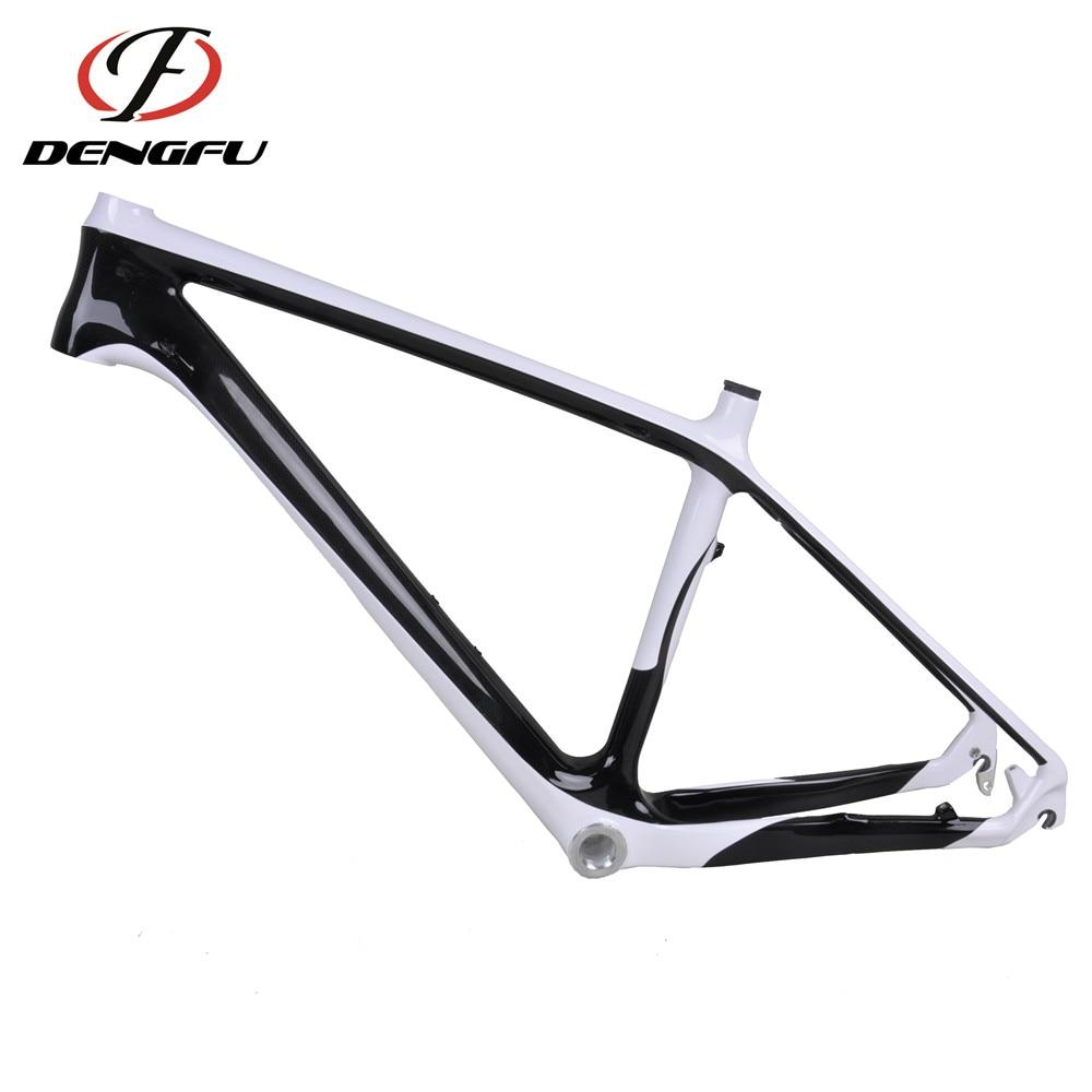 DISCOUNTS ! Dengfu 26er Carbon MTB Frame FM038 Painting White and 3K ...