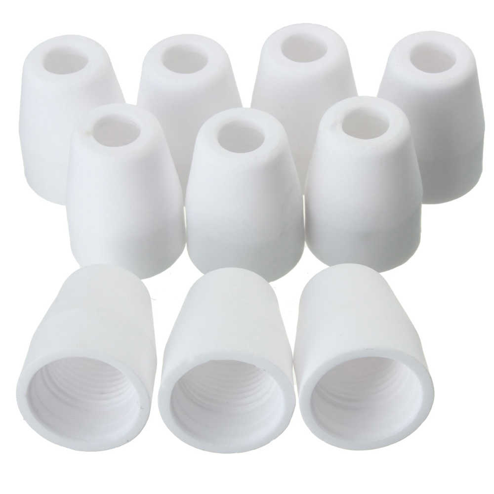 Meterk 40Pcs Air Plasma Cutter Verbrauchs Düsen Spitze Taschenlampe Verbrauchs Für PT-31 LG-40 Fackel CUT-40 50 Elektroden schild Tasse