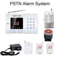Горячее домашное PSTN безопасности сигнализация Системы номеронабиратель 99 беспроводных зон 433 МГц беспроводной пассивный инфракрасный дат...