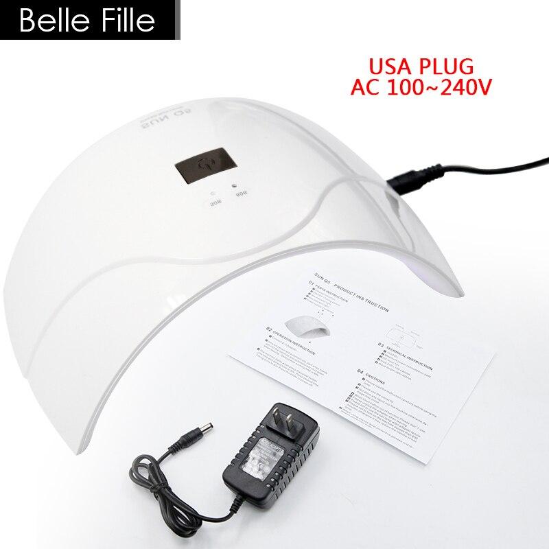 Belle Fille 24W ուլտրամանուշակագույն լամպի - Մանիկյուր - Լուսանկար 2