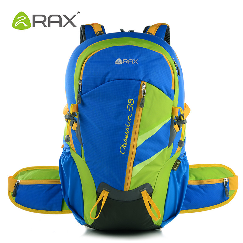 ФОТО Rax Mountaineering Backpack Men Outdoor Hiking Backpacks Women Bag Outdoor Sports Backpacks Cycling School Bags For Teenagers