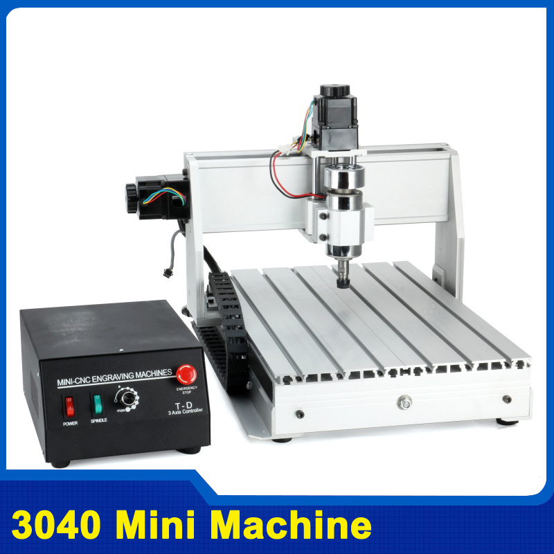 300W Three-axis Threads Screw CNC Router Engraver Engraving Milling Drilling Cutting Machine CNC 3040 T-D ship from uk no tax cnc router 3040 z s engraver engraving machine carving drilling milling machine can add 4th axis