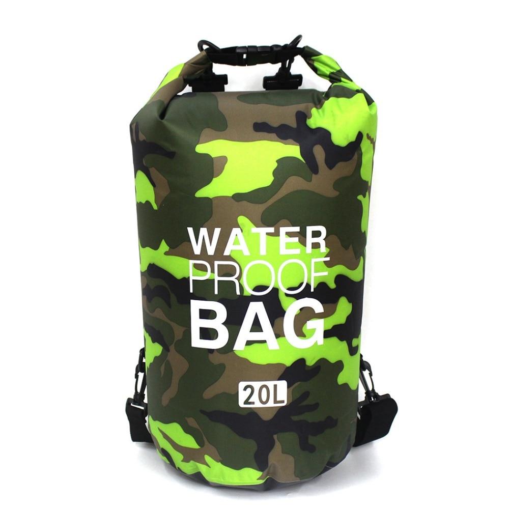 Floating Waterproof Dry Bag 2L/5L/10L/15L/20L/30L River Trekking Bags Roll Top Sacks For Rafting Boating Swimming Beach Camping