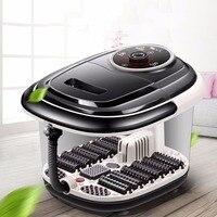 Multifunctional Fully Automatic Electric Roller Feet Basin Heating Foot Tub Foot Massage Machine Foot Spa Bath