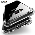 PZOZ For Samsung Note 9 Case S9 S8 Silicone Luxury Shockproof Clear For Galaxy S9 S8 Plus Case Cover Note9 S9plus S8plus Phone
