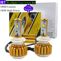 TAITIAN TAITIAN 180W 18000LM H7 LED Headlight Bulb Beam Conversion Kit 6500K Headlamp
