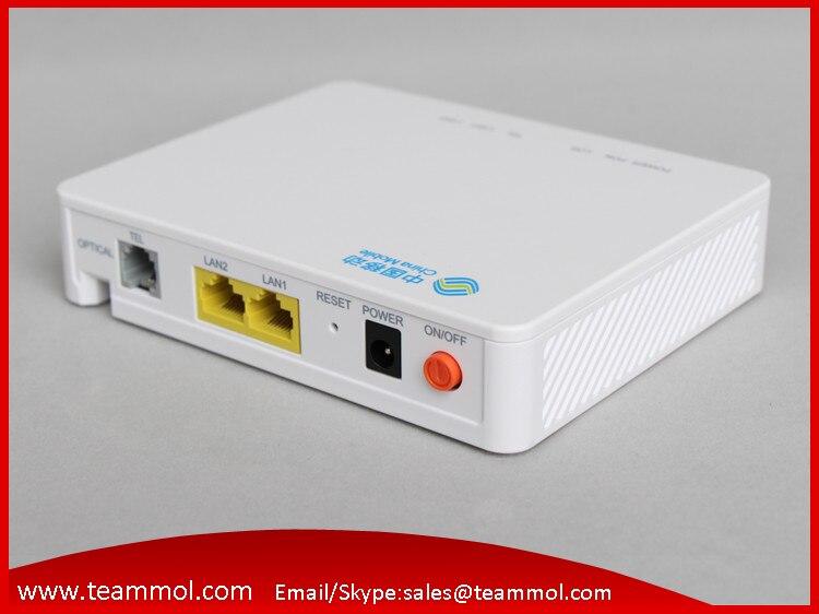 imágenes para ZTE F603 6.0 Router Soporte FTTH ONT GPON onu HGU 1GE + 1FE + 1TEL misma función que F601 F401 F643 F612 GPON onu ONT