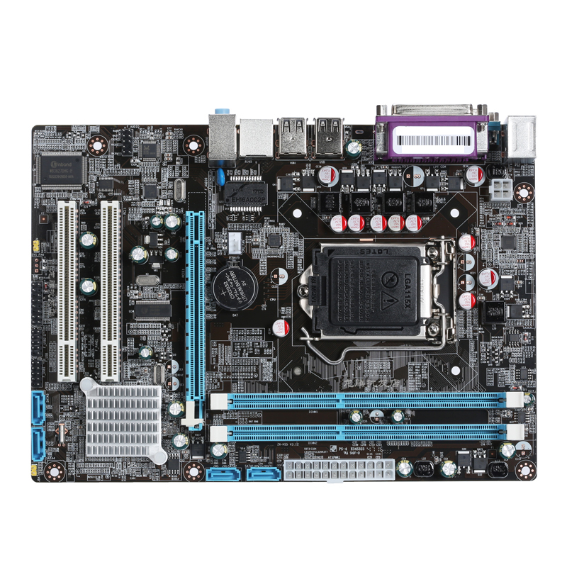 New desktop motherboard P55 motherboard DDR3 P55 LGA 1156 mainboard Micro-ATX free shipping