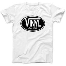 """Vinyl Since 1948"" men's t-shirt"