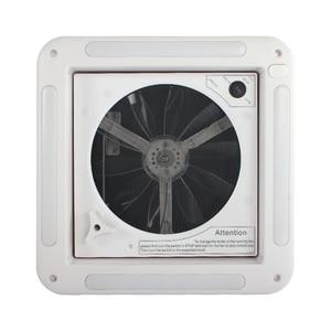Image 2 - TYTXRV 11 CE Caravan accessories Motorhomes vents 12 volt fan with LED camper rv window Recreational Vehicle manual control
