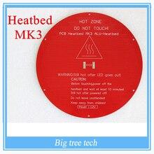 Delta rostock MK3 heat bed latest Aluminum Heat bed Dual Power 3D printer Accessories RepRap MK3 Heat bed Hot Bed