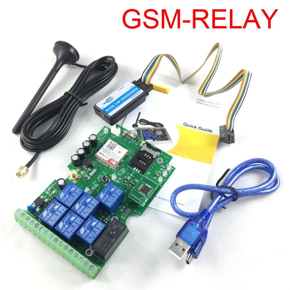 2017 새로운 GSM 릴레이 1 개 일곱 출력 GSM 릴레이 SMS - 보안 및 보호 - 사진 3