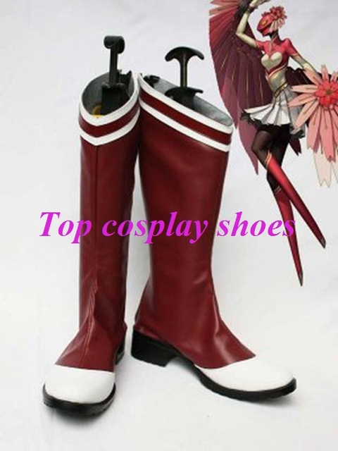 Shin Megami Tensei Persona 4 Konohana Sakuya Cosplay Shoes Boots Custom Made