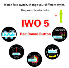 Smart Watch IWO 1 1 Upgrade 5th Generation Heart Rate Smartwatch IWO 5 Wearable Device For