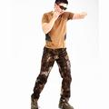 Patrón de la serpiente Baggy Pantalones Multibolsillos Camuflaje Pantalones Militares de Camuflaje de Algodón Pantalones Cargo Pantalones Militares De Camuflaje Táctico