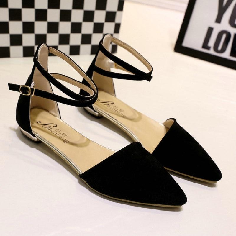 b44e9eda negro Para Femenino El Negro Cielo 2017 Cómodo Zapatos Concise azul Tacones  Zapato Nueva Elegante Beige Plana Trabajo Flats Mujeres Ocio Suave Cuero ...