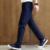 Marca de fábrica famosa de Los Hombres Pantalones Pantalones Casuales de La Moda de Los Hombres Lavados de Algodón Pantalones 8 Colores Pantalones Hombre de Negocios