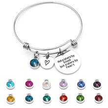 Unique Round Zircon Bracelet Heart Shaped Stainless Steel Letter Phrase Pendant Bracelet Chain for women girls Crystal  Jewelry classic heart letter a bracelet for women