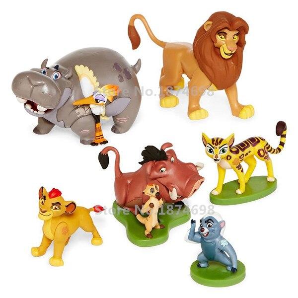 Novo O Guarda Le 227 O Brinquedo Figura Pvc 6 Pcs Set Com Kion