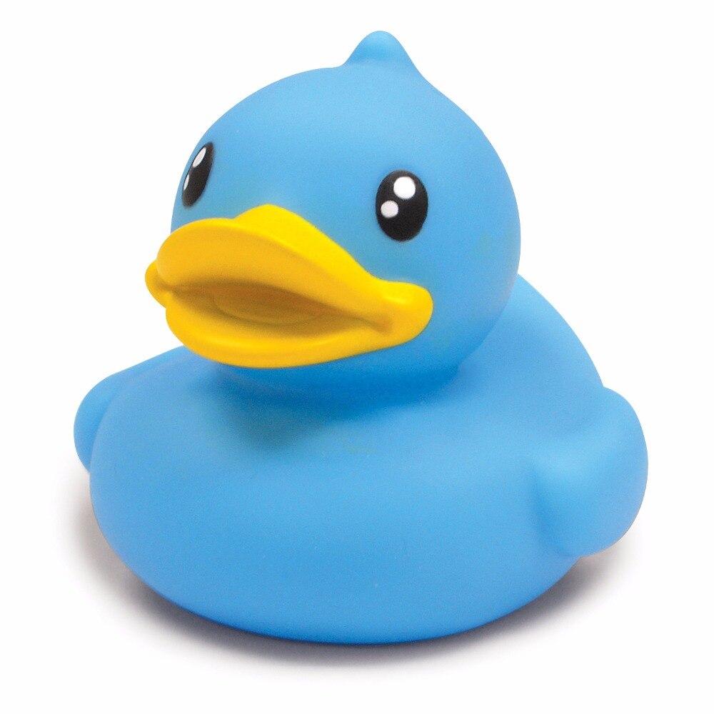 B.Duck Baby Bath Toys PVC Duck Shower Water Floating Mini Bathroom ...