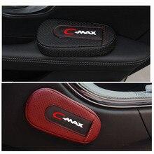 Высококачественная Кожаная подушка для ног, наколенник для двери автомобиля, накладка на руку, внутренние автомобильные аксессуары для Ford Cmax
