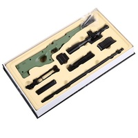 1:3 Barrett Metal Model Toys For Sniper Rifle Toy AWP Metal Models For Children Barrett Model