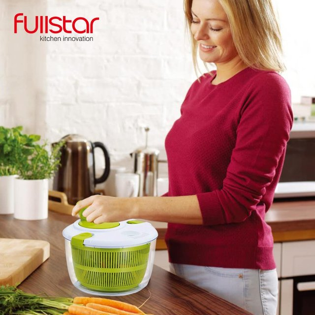 Fullstar Salad bowl Jumbo Salad Spinner Kitchen Tools kitchen accessories  for vegatable Mixer Salad gadgets food helper 3