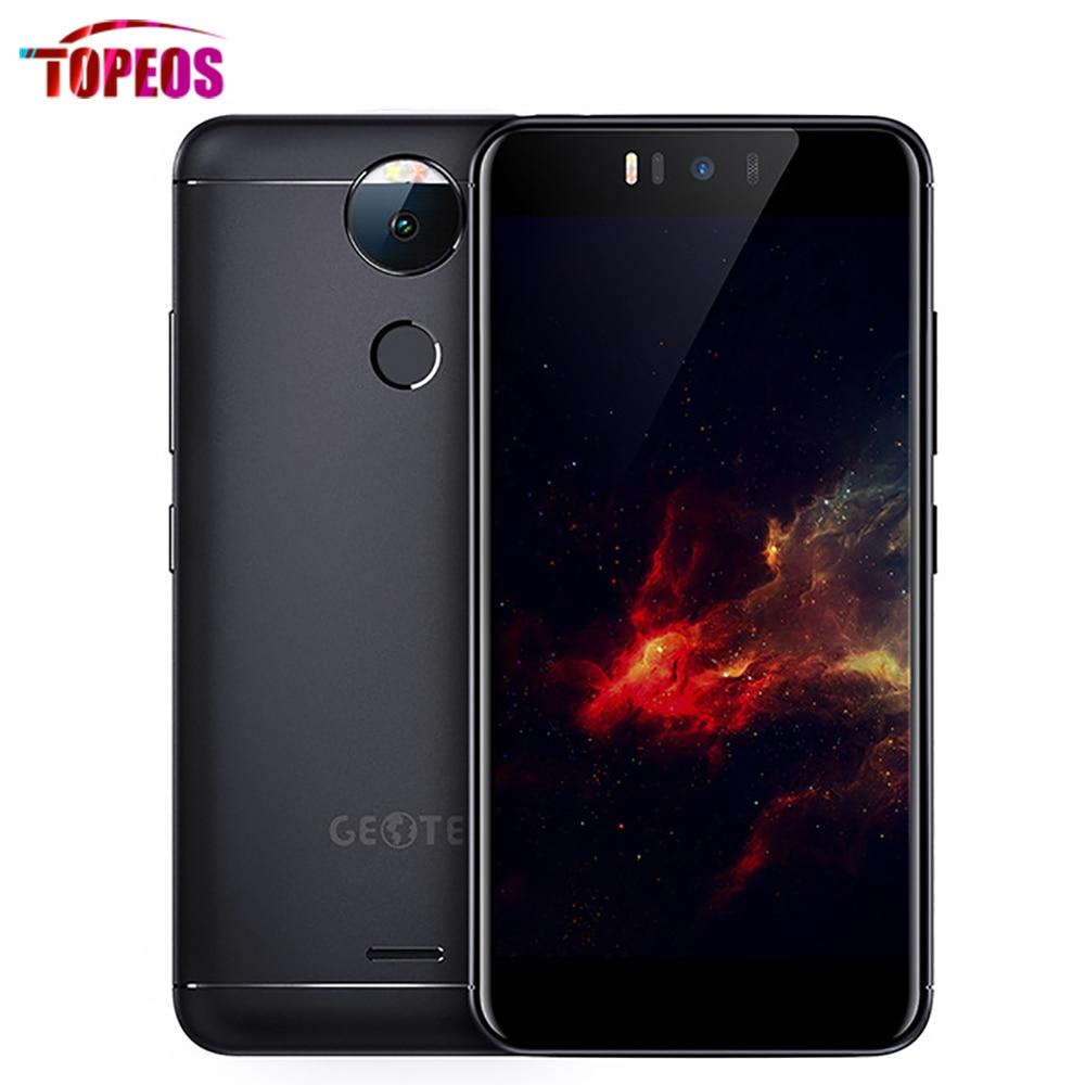Original Geotel Amigo MT6753 Octa Core Phone Android7.0 3GB RAM 32GB ROM 5.2 inch 1280*720 13MP Fingerprint 4G 3000mAh Phone