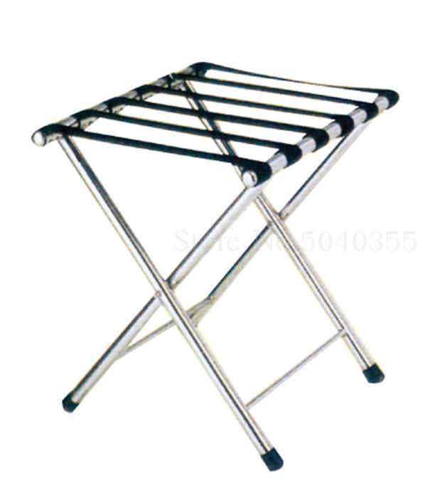 Hotel luggage rack stainless steel rack hotel room folding luggage clothing tray rack home office - Цвет: VIP 5