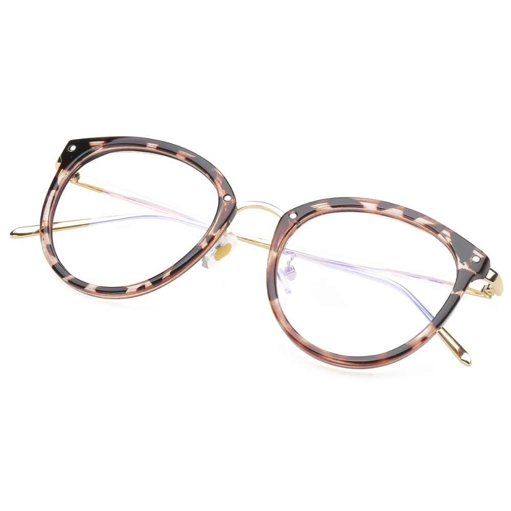 8c3ee7d0f17 ... Eyeglasses Eyewear Frame Fashion Black Vintage Metal Optical Frame  Reading Glasses Women Eyeglasses Frames New 2017 ...