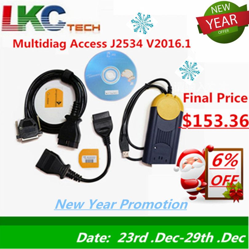 Date 2016.1 multi-diag j2534 Multi-langue Auto actia multi-diag obd2 interface multidiag v2015.1 Auto Diagnostic outil