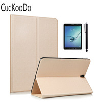 Ultra Lightweight Slim Shell Stand Folio Case Cover For Galaxy Tab S3 9 7 Inch Tablet