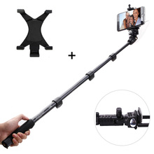 New arrival wired selfie stick for iphone and samsung huawei extendable monopod for gopro SJ action camera