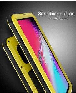Image 1 - Dành Cho Samsung Galaxy Samsung Galaxy S10 Ốp Lưng 5G Love Mei Sốc Bụi Bẩn Không Thấm Nước Chống Giáp Kim Loại Bao Da Ốp Lưng Điện Thoại samsung Galaxy S10 5G