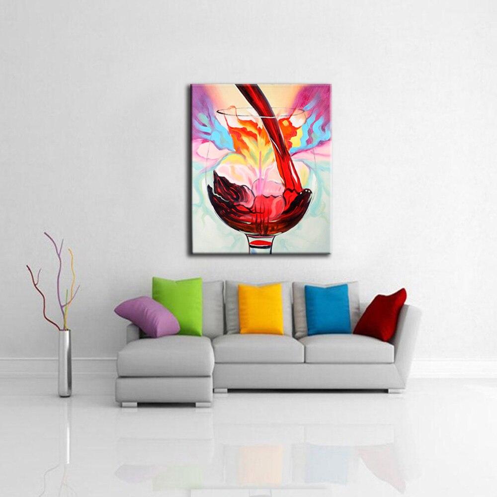 Schilderen wijnglas koop goedkope schilderen wijnglas loten van ...