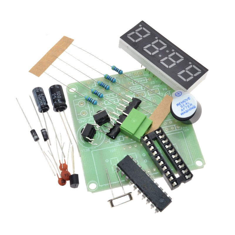 Digital Tube Electronic Clock DIY Electronic Production Suite Main chip: